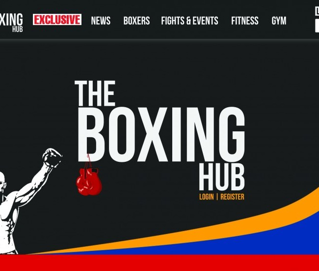 The Boxing Hub Website