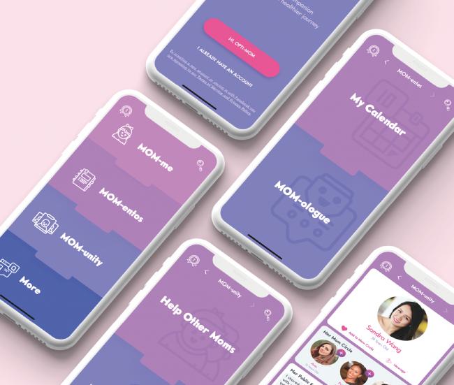 Opti-MOM: Mobile App for MOMs